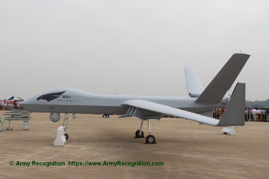 Chinese Wing Loong II drones sold to Pakistan