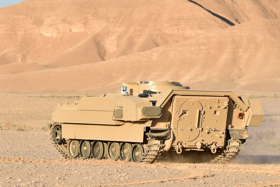 Leonardo DRS and Rafael test lighter Trophy Vehicle Protection System for smaller platforms