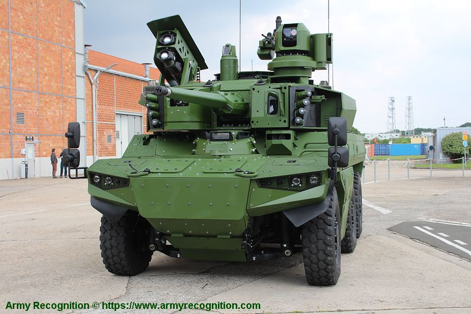 Nexter from France will provide Griffon and Jaguar armored vehicles to Belgian army 925 001