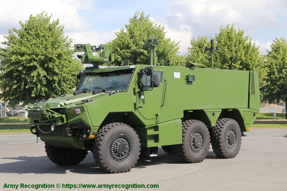 Nexter from France will provide Griffon and Jaguar armored vehicles to Belgian army 925 002