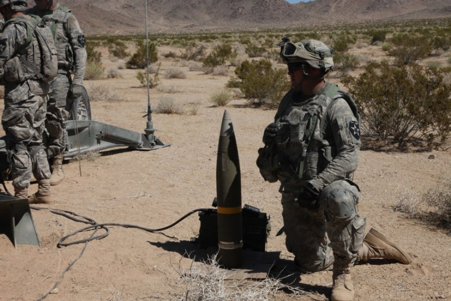 Raytheon US Army upgrade Excalibur precision guided projectile