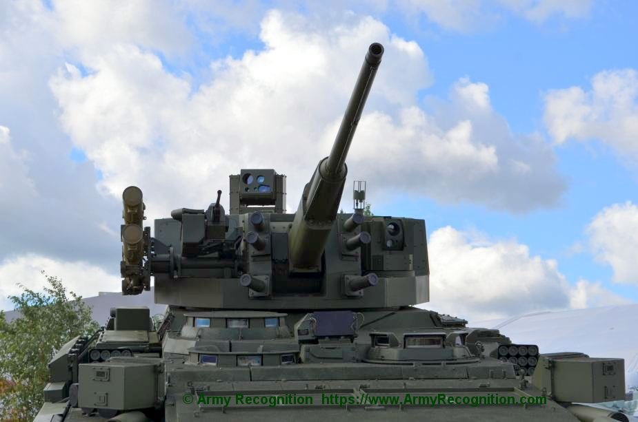 Russian Bumerang IFV may be equipped with Kinzhal module