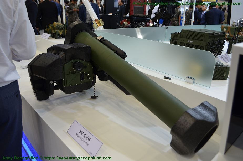 South Korean Raybolt ATGM missile in service with Saudi Arabia army 925 001