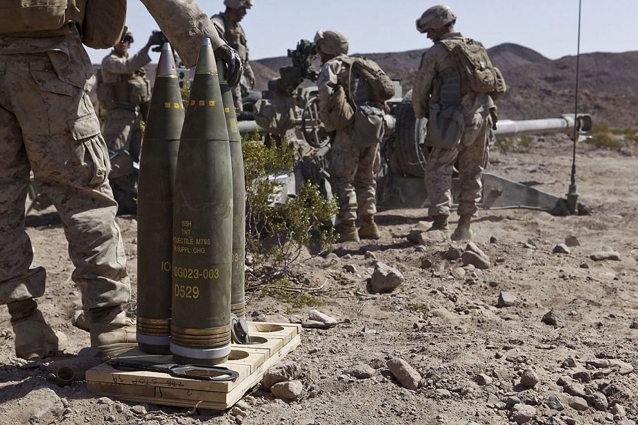 Australia to purchase M795 155mm howitzer projectiles from United States 925 001