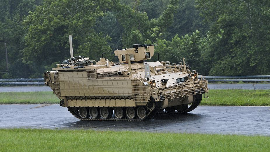 BAE Systems has delivered AMPVs armored to US Army to begin testing phase 925 001