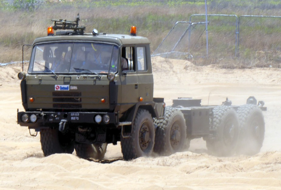BEML Tatra 8x8 T815 truck multirole chassis for Indian army2