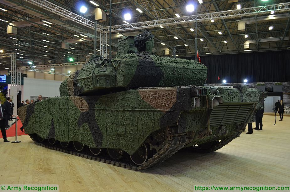 BMC from Turkey won contract to produce Altay MBT Main Battle Tank 925 002