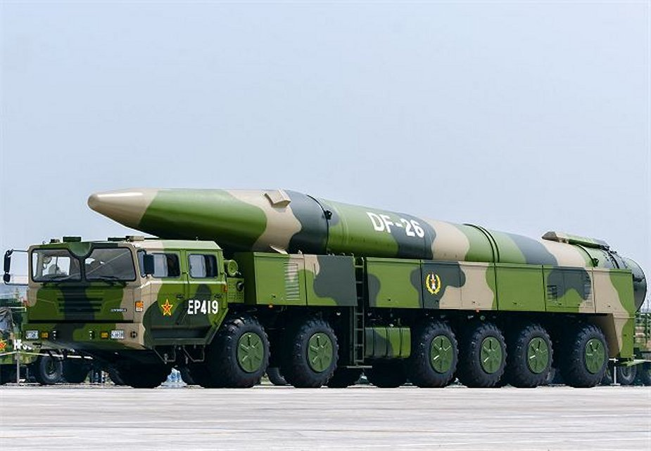 Chinese army deploys latest ballistic missiles to newest brigade
