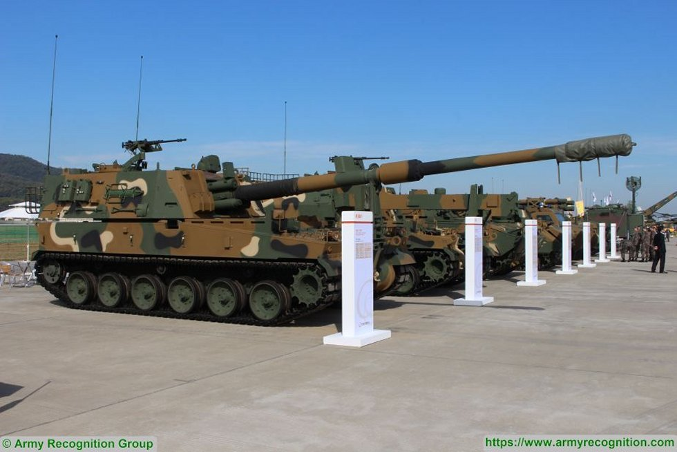 European orders extend South Korean K9 Thunder self propelled howitzer production