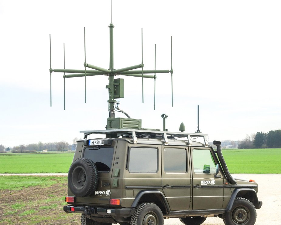 Hensoldts TwInvis passive radar in live operation
