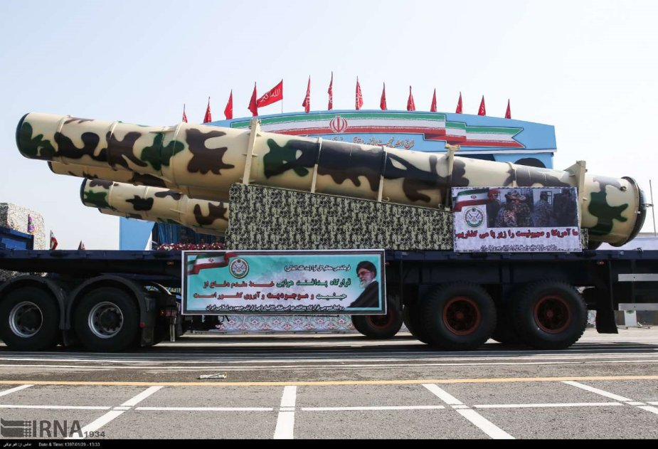Iran unveils Kamin 2 air defense missile system on National Day parade