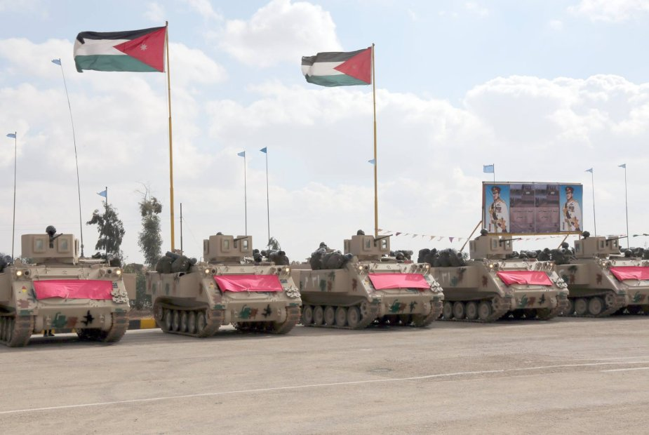 M113 APCs and AH 1F Cobras donated by Jordan to the Philippines