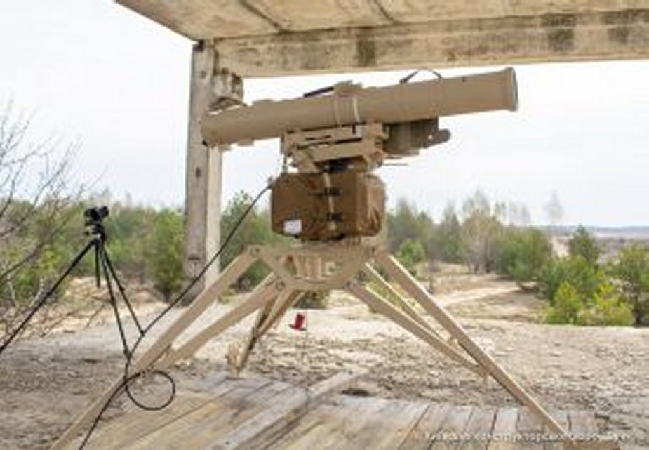 New Ukrainian antitank missile Skif successfully tested