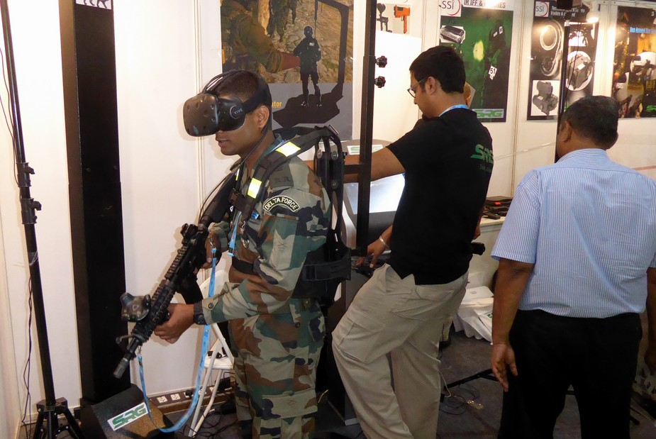 SRGs 3D shooting trainer prototype demonstrated
