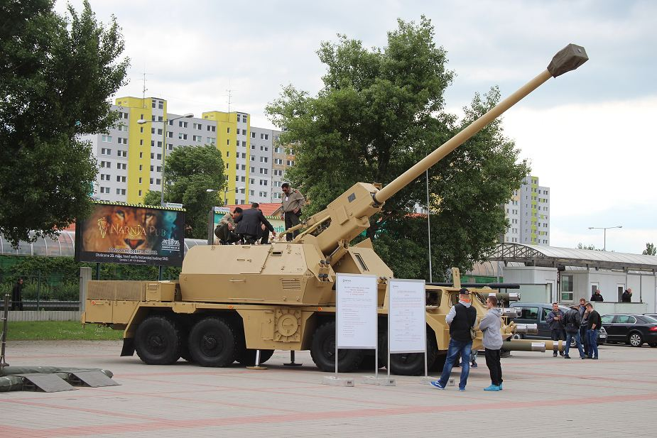 Slovakia plans to purchase 25 Zuzana 2 155mm wheeled self propelled howitzers 925 001