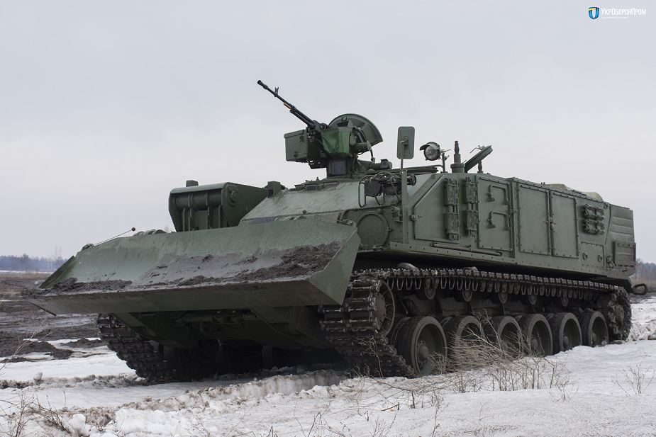 Ukraine has started serial production of Atlet BREM 84 armored recovery vehicle 925 001