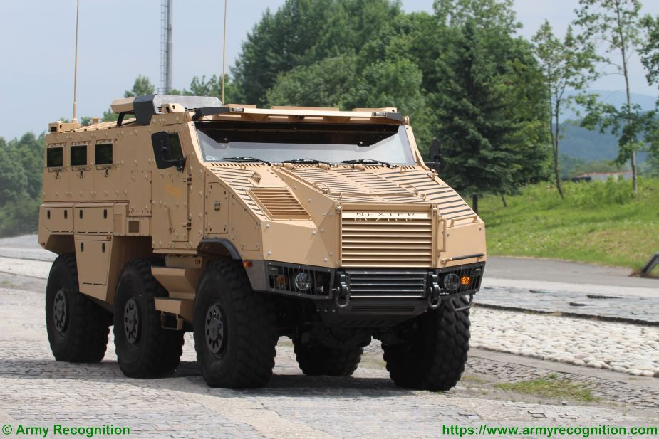 Czech Republic has awarded a contract to supply 62 TITUS 6x6 armored vehicles 925 001