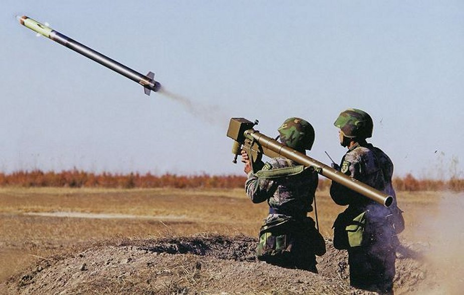 Namibia to buy Chinese FN 6 MANPADS surface to air missile