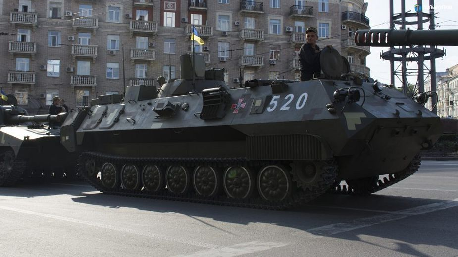 Ukraine Ukroboronprom artillery systems at the Independence Day parade 925 001