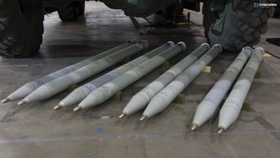 Ukraine new stage of successful tests of rockets of RS 80 Oskol from dart Artem