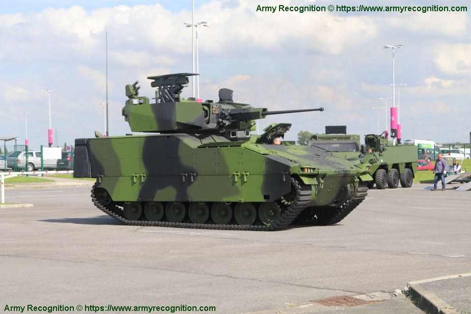 ASCOD the four candidats to replace Czech BVP 2 IFV tracked armored 925 001