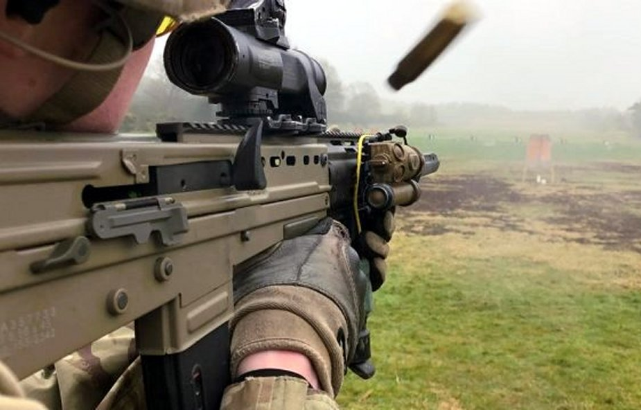 British Army SA80 A2 assault rifle being phased out for new SA80 A3