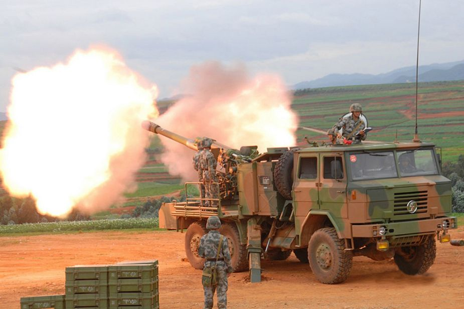 Chinese CS SH1 122mm howitzer in service with Rwandan Rwanda army defence forces 925 002