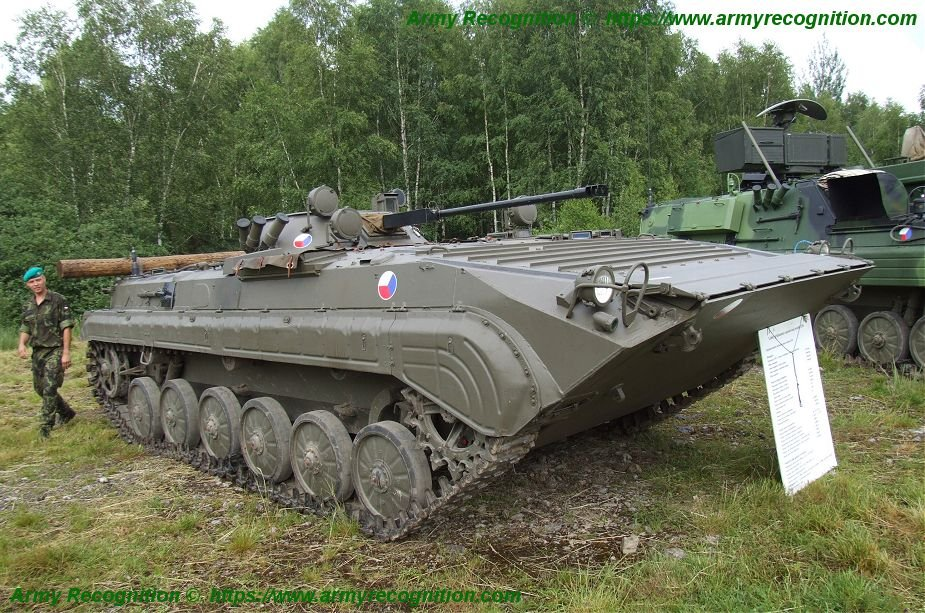 Czech Defense ministry launches tender for 210 armoured infantry vehicles