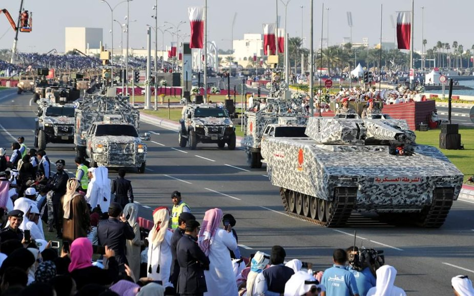 KF41 Lynx ICV seen at military parade in Qatar