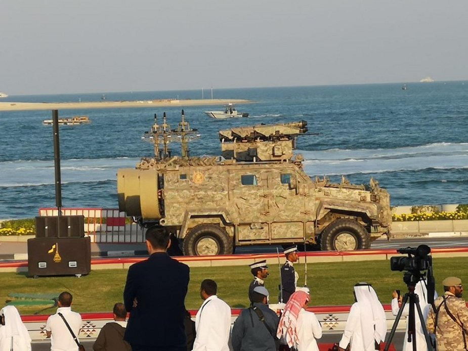 KF41 Lynx ICV seen at military parade in Qatar 2