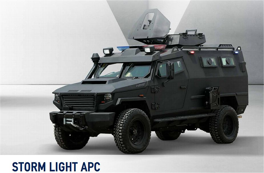 Qatar has delivered 24 Storm 4x4 APC armored vehicles to Mali 925 002