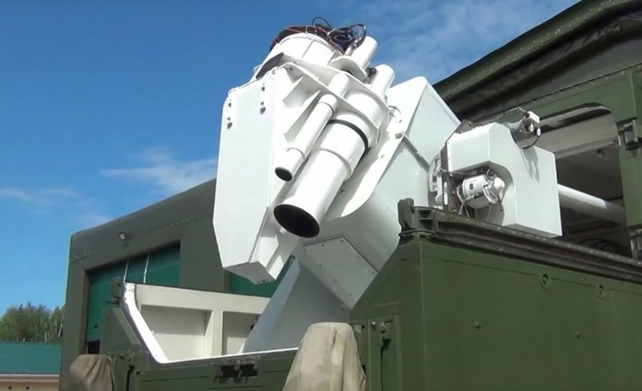 Russian combat laser systems go on experimental combat duty