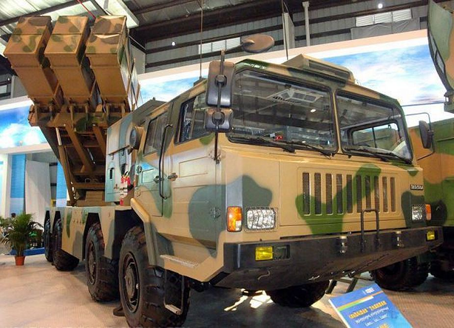 Chinese WS 2D rocket launchers for Morocco artillery