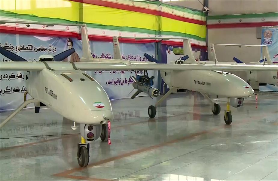 Iran has started mass production of Mohajer 6 armed drone UAV 925 001