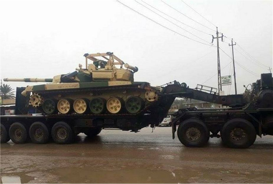 Iraq has received first batch of T 90S tanks MBT from Russia 925 001