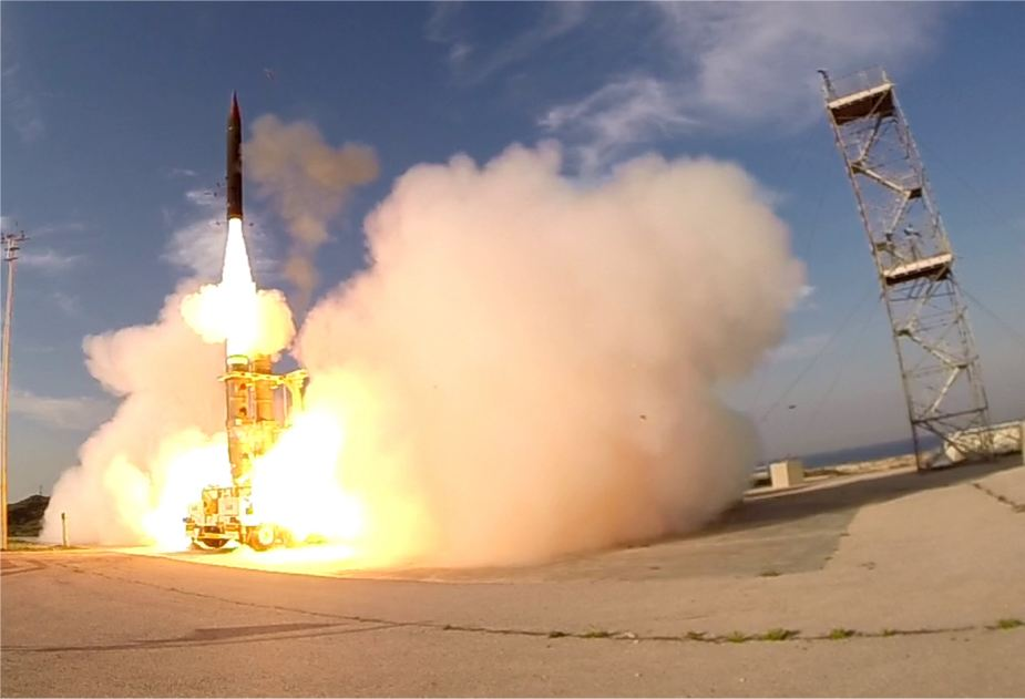 Israel successfully passed a flight test of Arrow 3 anti ballistic missile system 925 001