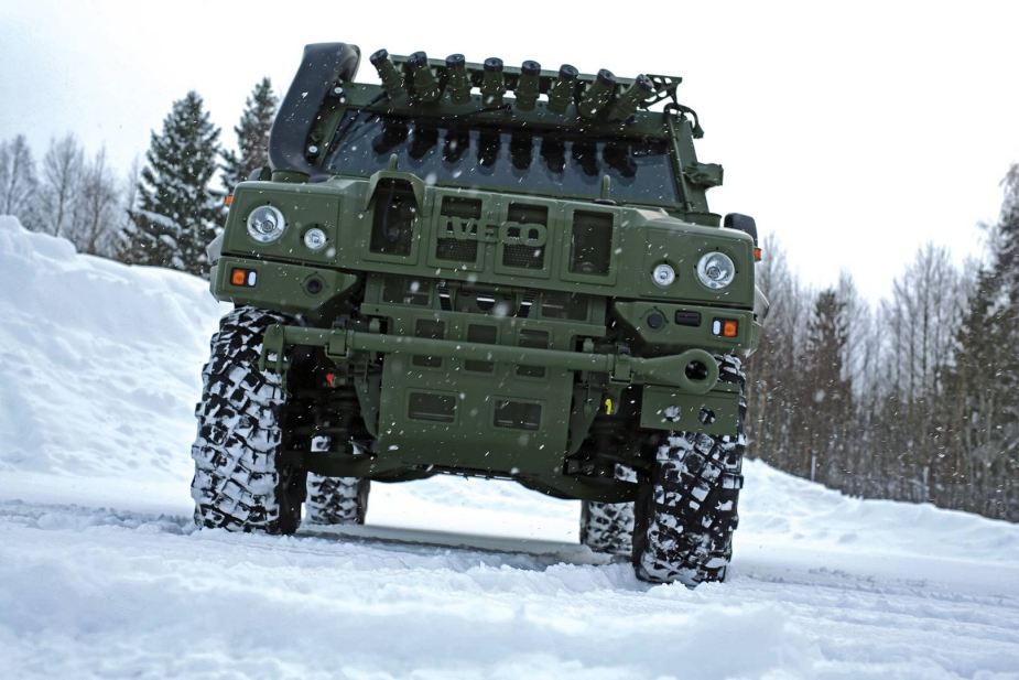 Iveco Defence Vehicles delivers officially LAV LMV armoured to Norway 925 001
