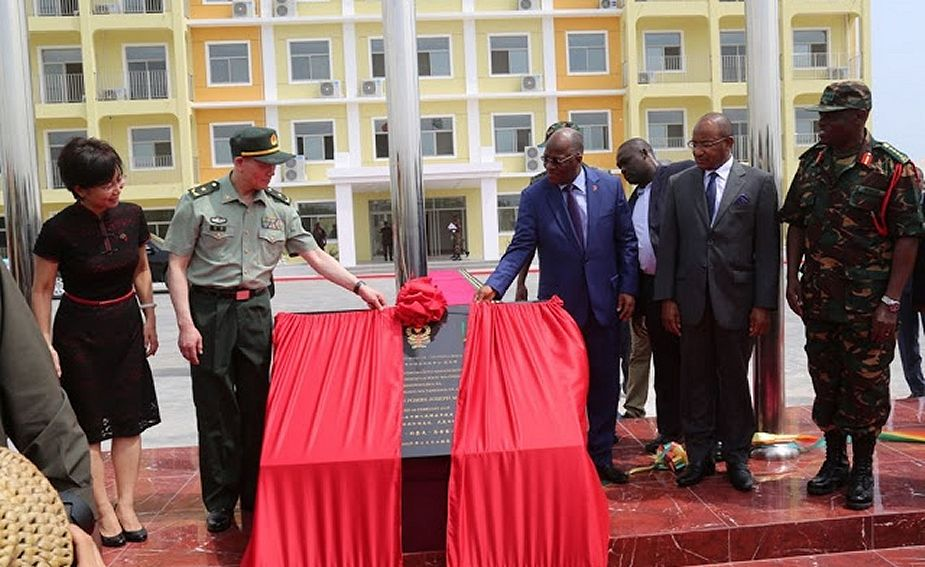 New Chinese built training training center for Tanzanian army 925 001