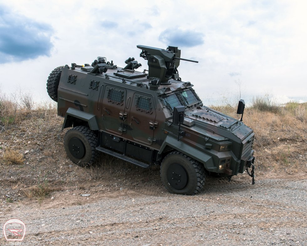 Nurol Makina Ejder Yalcin and Ejder Toma armoured vehicles for Senegal