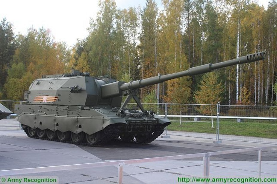 Russia Koalitsia SV self propelled gun to complete trials in 2020