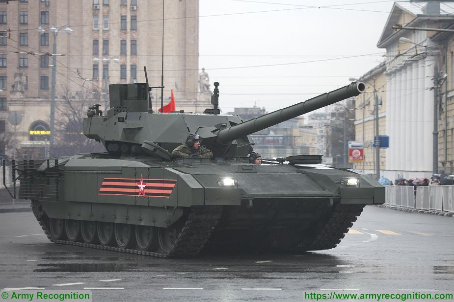 Russia Two battalions of T 14 Armata MBT tanks will enter in service 925 001