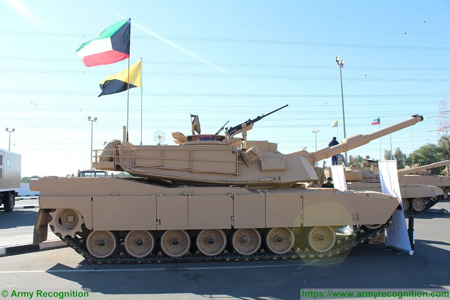 General Dynamics Land Systems to build M1A2 K main battle tank for Kuwait 925 001