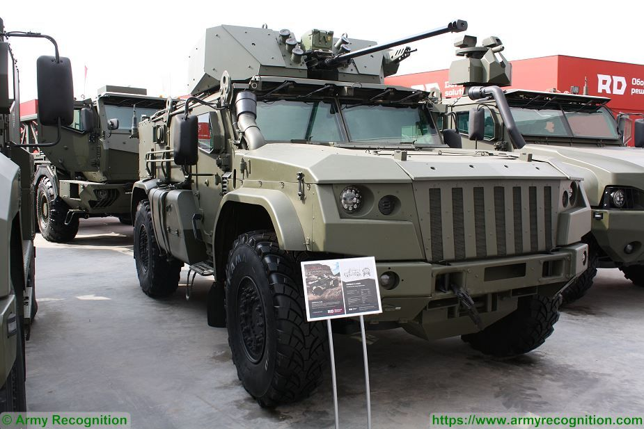 New K 4386 Typhoon VDV 4x4 armoured field tested by Russian army 925 001