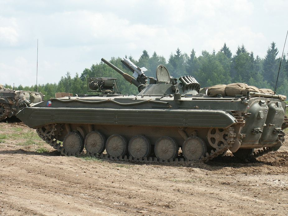 Slovak Army new tracked reconnaissance vehicle BPsVI based on BMP 1 IFV 925 001