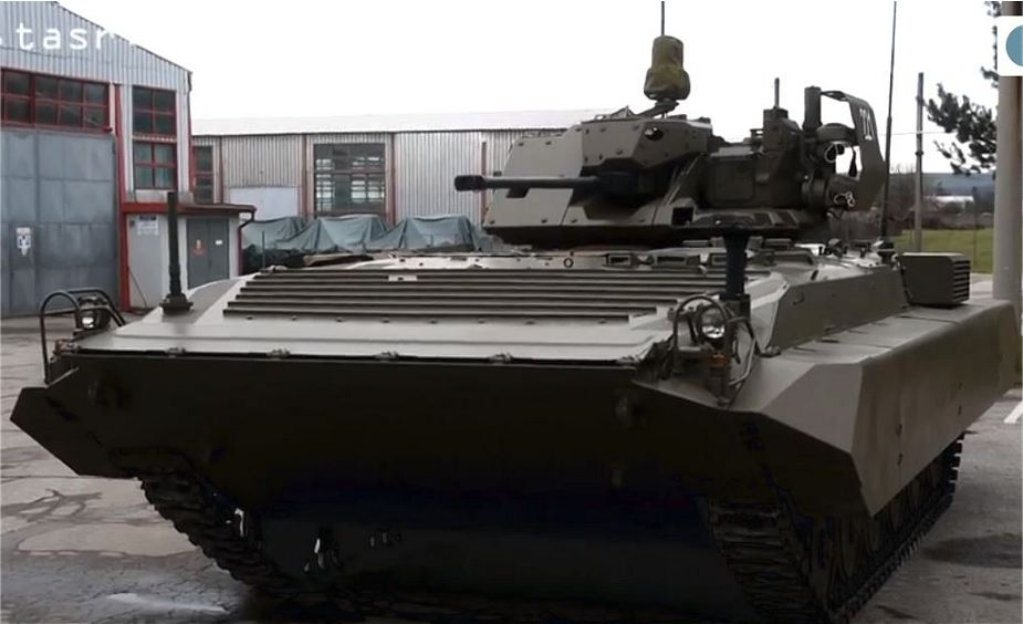 Slovak Army new tracked reconnaissance vehicle BPsVI based on BMP 1 IFV 925 002