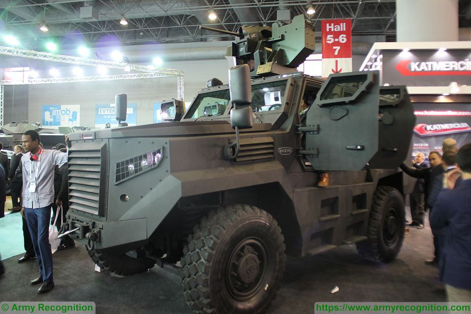 Turkish army has performed ballistic and mine tests with Katmerciler Hizir 4x4 armoured vehicle 925 001