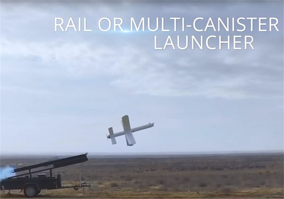 UVision has demonstrated Israeli Hero 400EC loitering munition 925 001