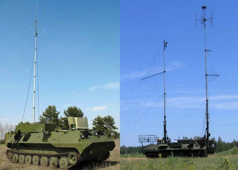 Borisoglebsk 2 EW system delivered to a Russian military base in Tajikistan