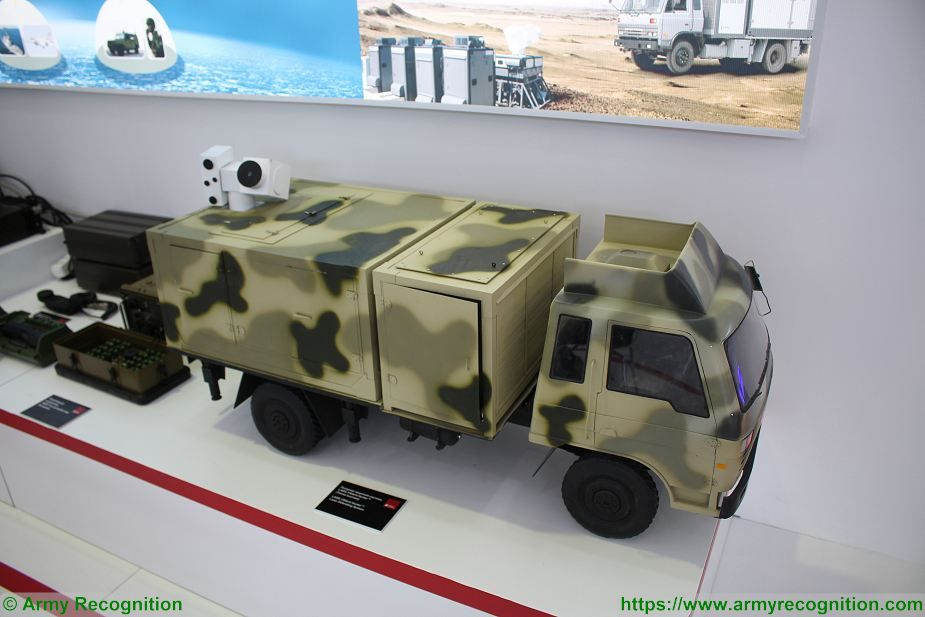 China continues to market laser weapons as the Silent Hunter 925 001