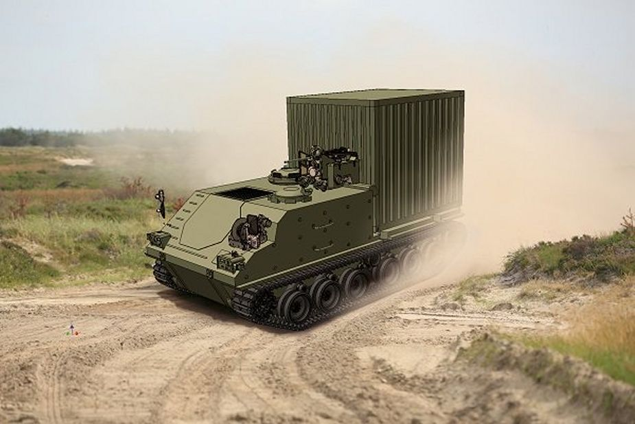 FFG from Germany will supply ACSV tracked armored to Norway 925 001